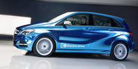 Mercedes-Benz Concept Clase B Electric Drive