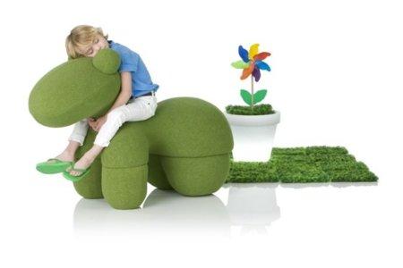 Giddy Up, la silla-juguete-pony para los pequeños