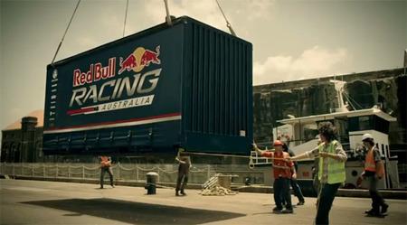 Tráiler de la llegada del Red Bull Racing Australia