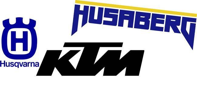 Logo KTM, Husaberg y Husqvarna