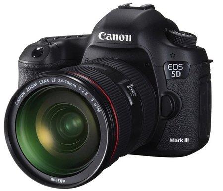 Canon EOS 5D Mark III ha llegado