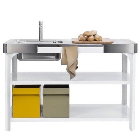 Una cocina en dos módulos de Naber