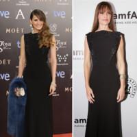 Elena Ballesteros vs Hilary Swank clon Goya 2014