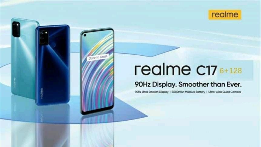 El Realme C17 aparece filtrado con monitor de 90 Hz, cuádruple cámara y Snapdragon™ 460, entre otras características