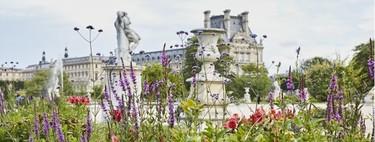 Ahora las exposiciones del Louvre se disfrutan también al aire libre: Kenzo Perfumes crea arreglos florales inspirados en ellas