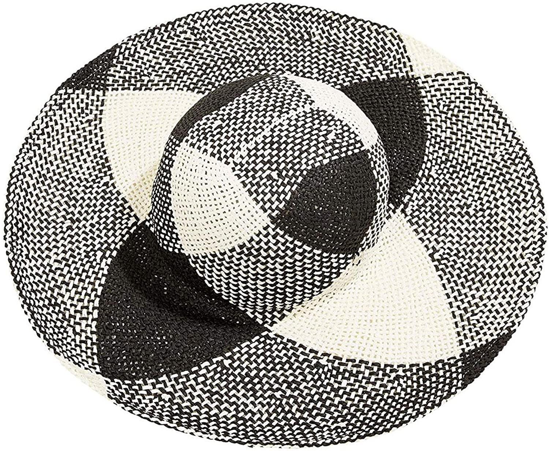 Sombrero de paja estampado