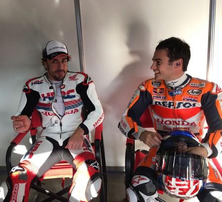 Fernando Alonso Motogp Honda 2016 4