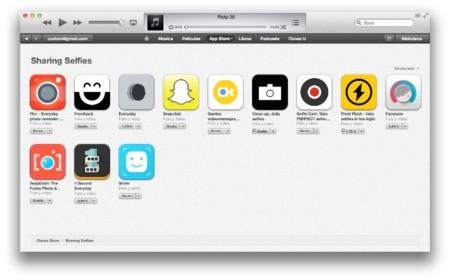 Sharing selfies, la nueva sección de la App Store