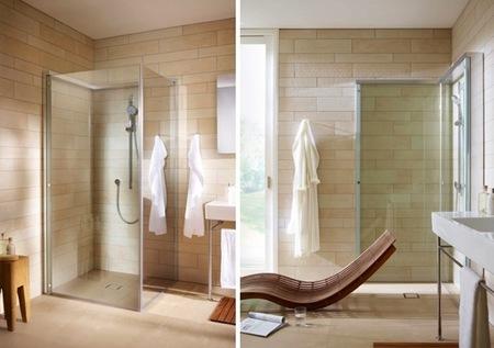 OpenSpace de Duravit hace que, cuando no la usas, tu ducha desaparezca