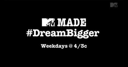 'Made #DreamBigger', el primer programa de televisión que incluye un hashtag en su título