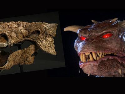 """Este nuevo dinosaurio se llama """"Zuul"""" porque ha resultado ser un clon del monstruo de 'Cazafantasmas'"""