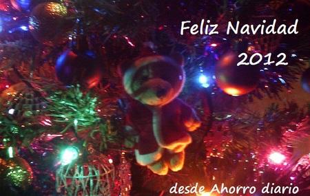 Todo el equipo de Ahorro diario os desea... ¡Felices Fiestas!