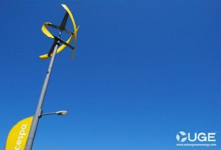 Turbina de eje vertical de la Sanya Skypump