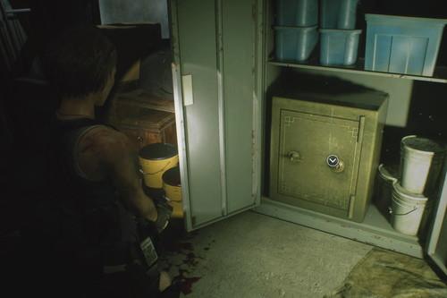 Guía de Resident Evil 3: solución a la combinación de la caja fuerte de Aqua Cure del remake de RE3: Nemesis