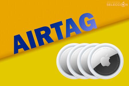 Ahorra 20 euros en el pack de cuatro Apple AirTag en Fnac y ten siempre localizadas las llaves, la cartera y más por 99,17 euros