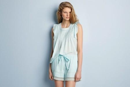 oysho pv 2014 pijama mint