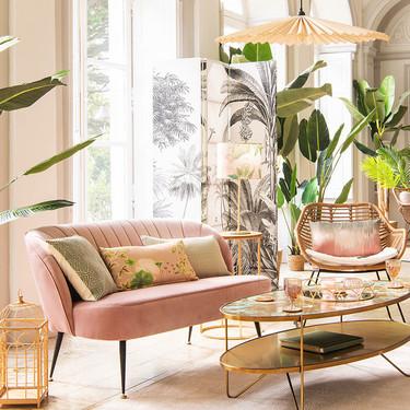 Tendencia decorativa Hanói, la apuesta de Maisons du Monde para que decores toda la casa con un ambiente vintage y natural
