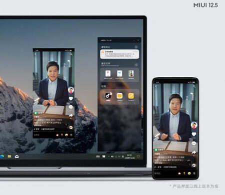 Miui doce cinco Laptop Phone Integration