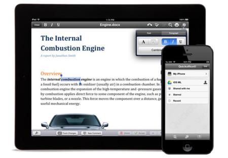 QuickOffice, la suite ofimática para dispositivos móviles pasa a ser gratuita