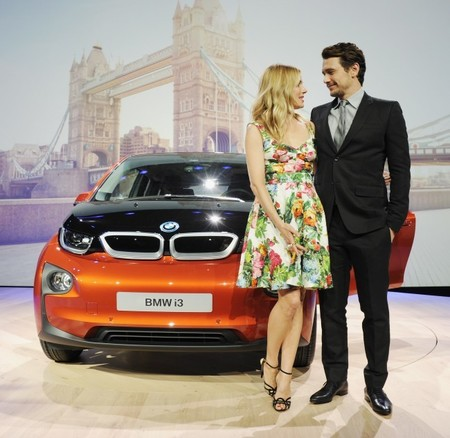 BMW i3 James Franco y Sienna Miller