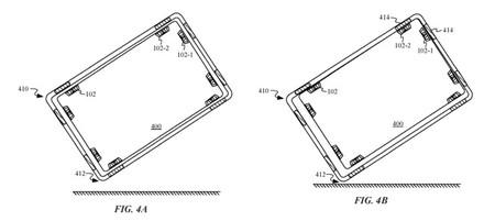 Patente Ipad Imanes Caida