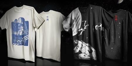 Adidas y Star Wars, la colaboración más espacial de 2010, camisetas