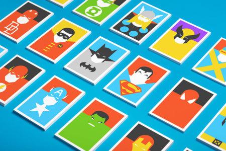 Re-vision: la versión minimalista de grandes iconos culturales