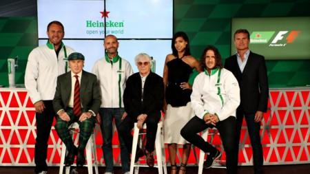 La Fórmula 1 se alía con Heineken como patrocinador global hasta 2020