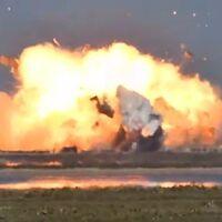 Otra explosión para SpaceX: después de llegar a los 10 km de altura, el SN9, de Elon Musk, tuvo un aterrizaje fallido