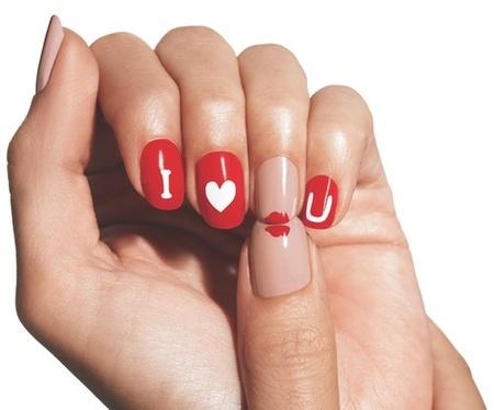 Ideas para San Valentín: díselo con tus uñas, díselo con el Nail-Art