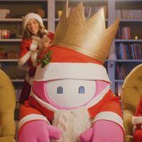 Fall Guys celebra la llegada de la Navidad con un simpático tráiler de acción real y una skin gratis de Papá Noel