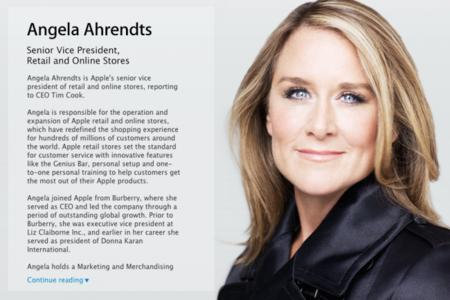 Es oficial: Angela Ahrendts ya es la nueva vicepresidenta senior de Apple Retail