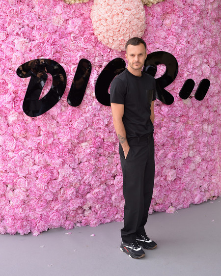 Kris Van Assche Dior Homme Outside Arrivals Paris Fashion Week Menswear Spring Summer 2019