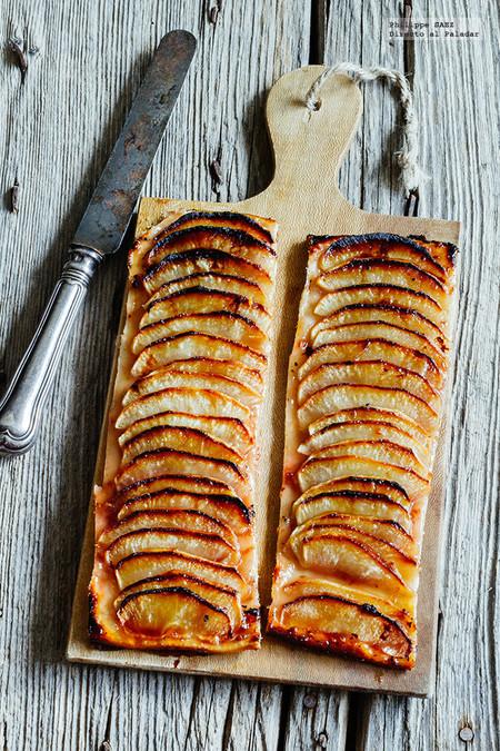 Tarta de manzana y miel: receta fácil, rápida y sin complicaciones