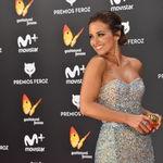 Paula Echevarría como una princesa de cuento en los Premios Feroz 2017