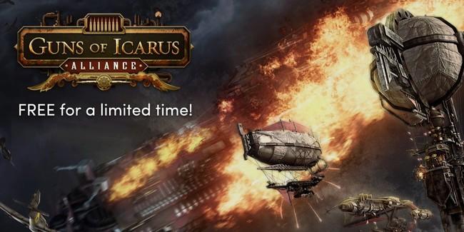 Guns of Icarus Alliance gratis para PC, Mac y Linux por tiempo muy limitado en Humble Bundle