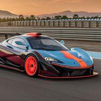 McLaren P1 GTR-18: tributo sublime al McLaren F1 GTR Longtail que ganó las 24 Horas de Le Mans con más de 1.000 CV y colores Gulf