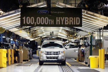 Hibrido Ford numero 100.000