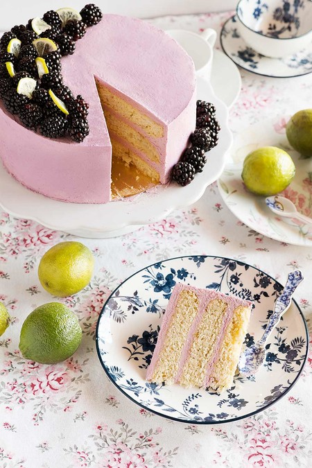 Receta Layer Cake Moras 5
