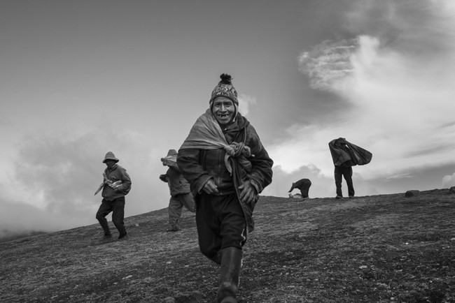 'Back to Silence', la introspección a través de la fotografía a casi 3.000 metros de altura