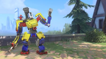 El nuevo evento de Overwatch nos permitirá desbloquear una skin de Bastion formada por piezas de LEGO