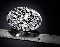 El Magnificent Oval Diamond de 118 quilates se remata en subasta por 30 milones de dólares