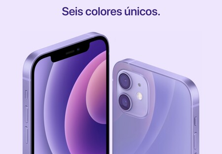 iPhone 12 púrpura