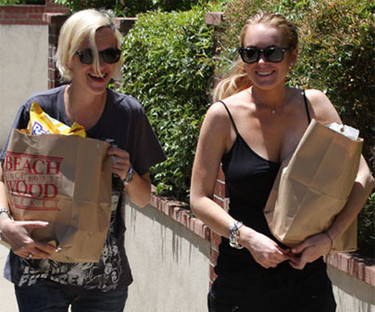 Lindsay Lohan podría mudarse con Samantha Ronson