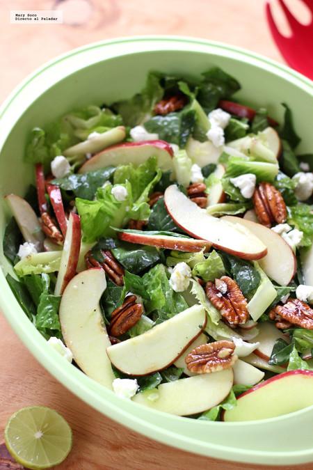 Ensalada Espinacas Manzana