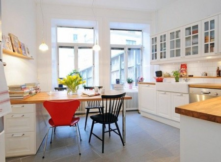 Crisp Scandinavian Kitchen Design