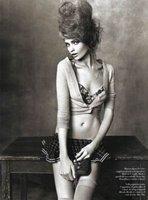 Las modelos más codiciadas posando para Vogue Italia con un look muy retro