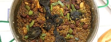 Arroz de ternera con alcachofas y productos de la huerta