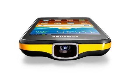 Samsung Galaxy Beam, érase un móvil a un proyector pegado