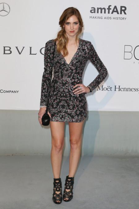 Chiara Ferragni amfar Cannes 2014